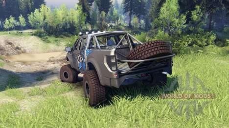 Ford Raptor Pre-Runner v1.1 monster for Spin Tires