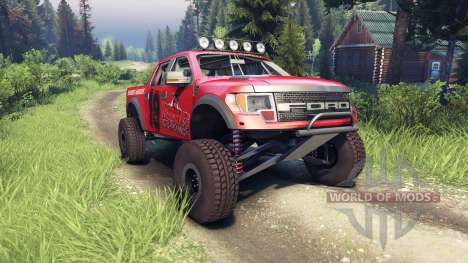 Ford Raptor Pre-Runner v1.1 terrible herbst for Spin Tires