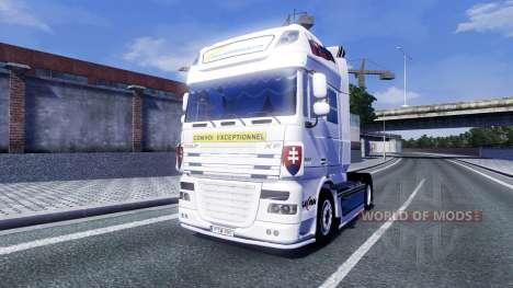 DAF XF Tuning Felbermayr for Euro Truck Simulator 2