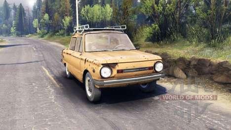 ZAZ-968 m v0.1 for Spin Tires