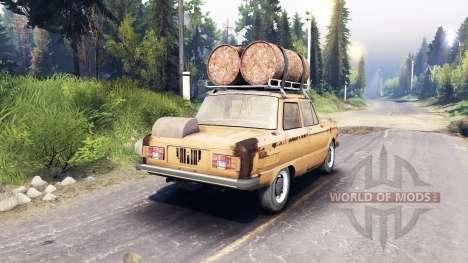 ZAZ-968 m v0.2 for Spin Tires