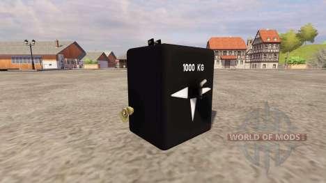 GMC 1000 for Farming Simulator 2013
