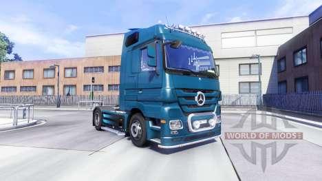 Mercedes-Benz Actros for Euro Truck Simulator 2