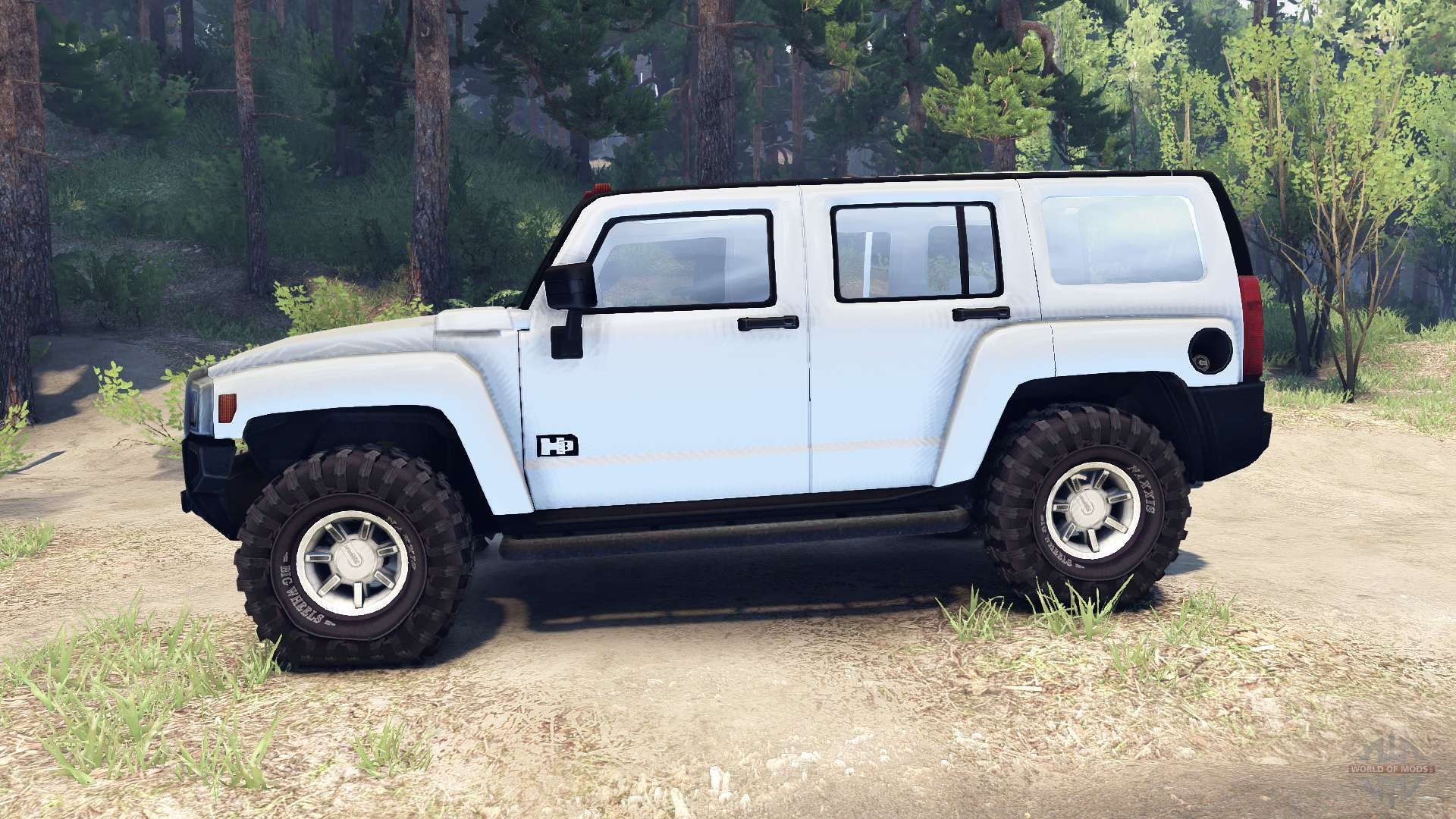 Hummer H3 V0 2 For Spin Tires