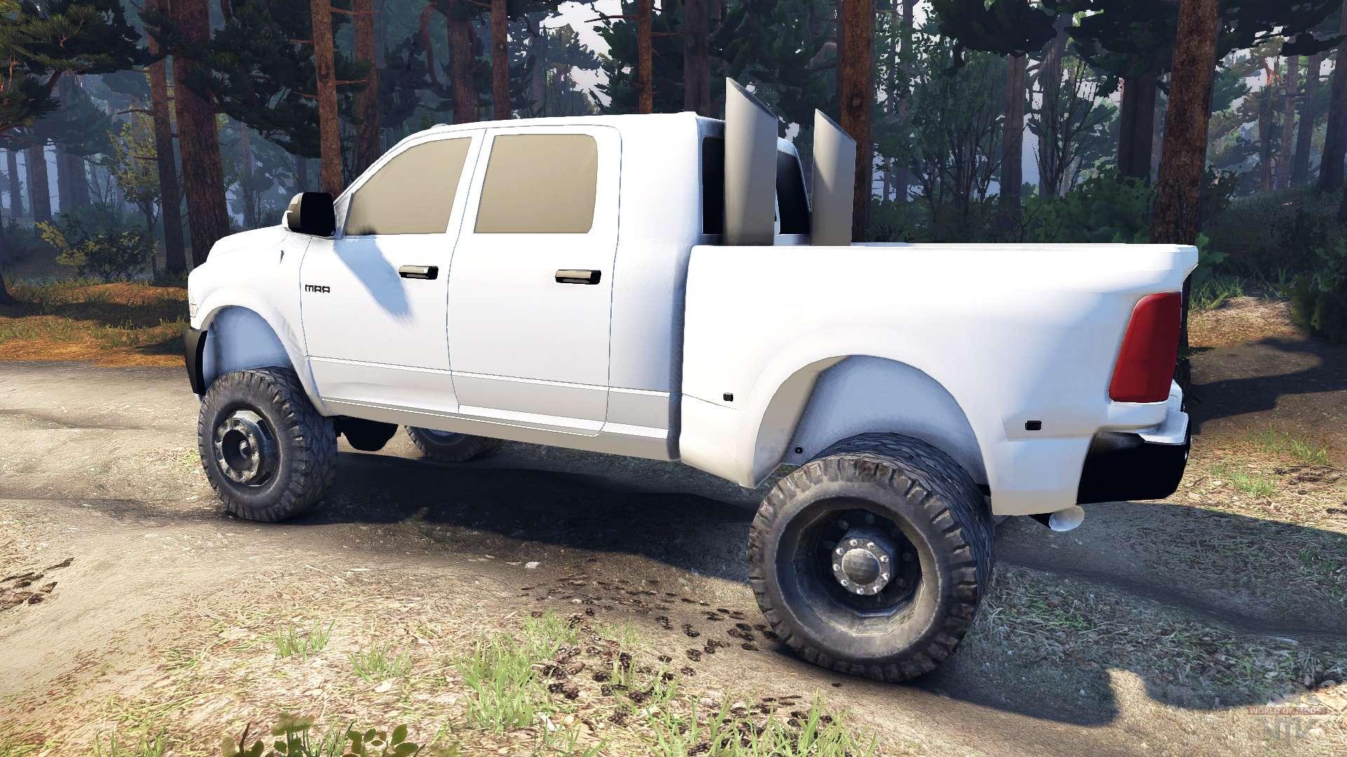 Spintiresrelease on 03 Dodge 3500 Dually