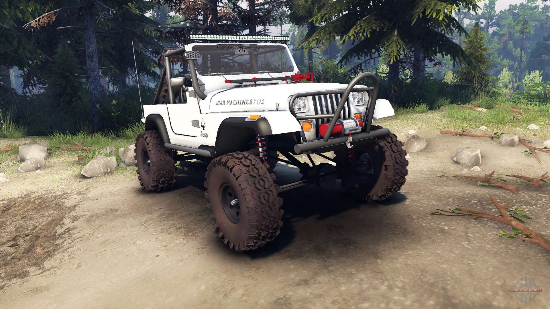 Jeep Tops Off Jeep yj 1987 Open Top White