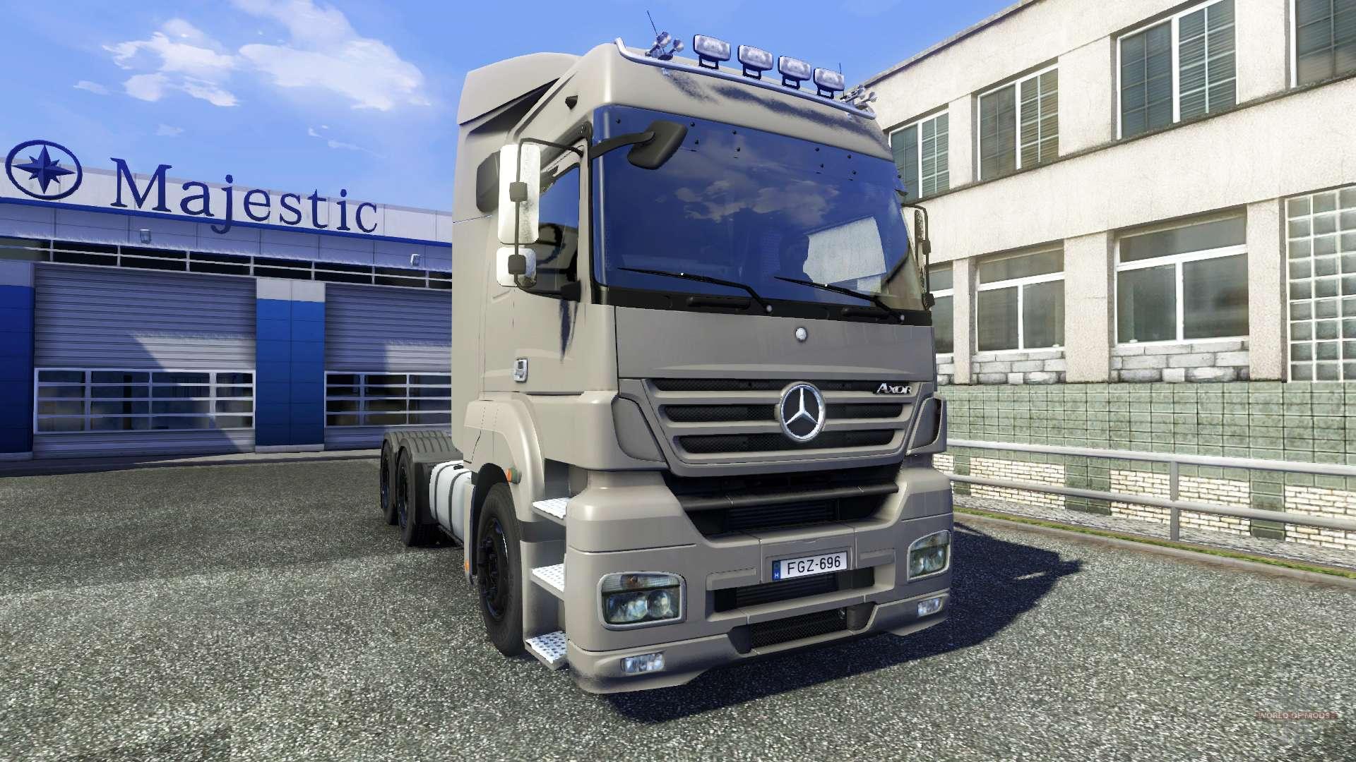 Mercedes benz axor for euro truck simulator 2 for Mercedes benz euro