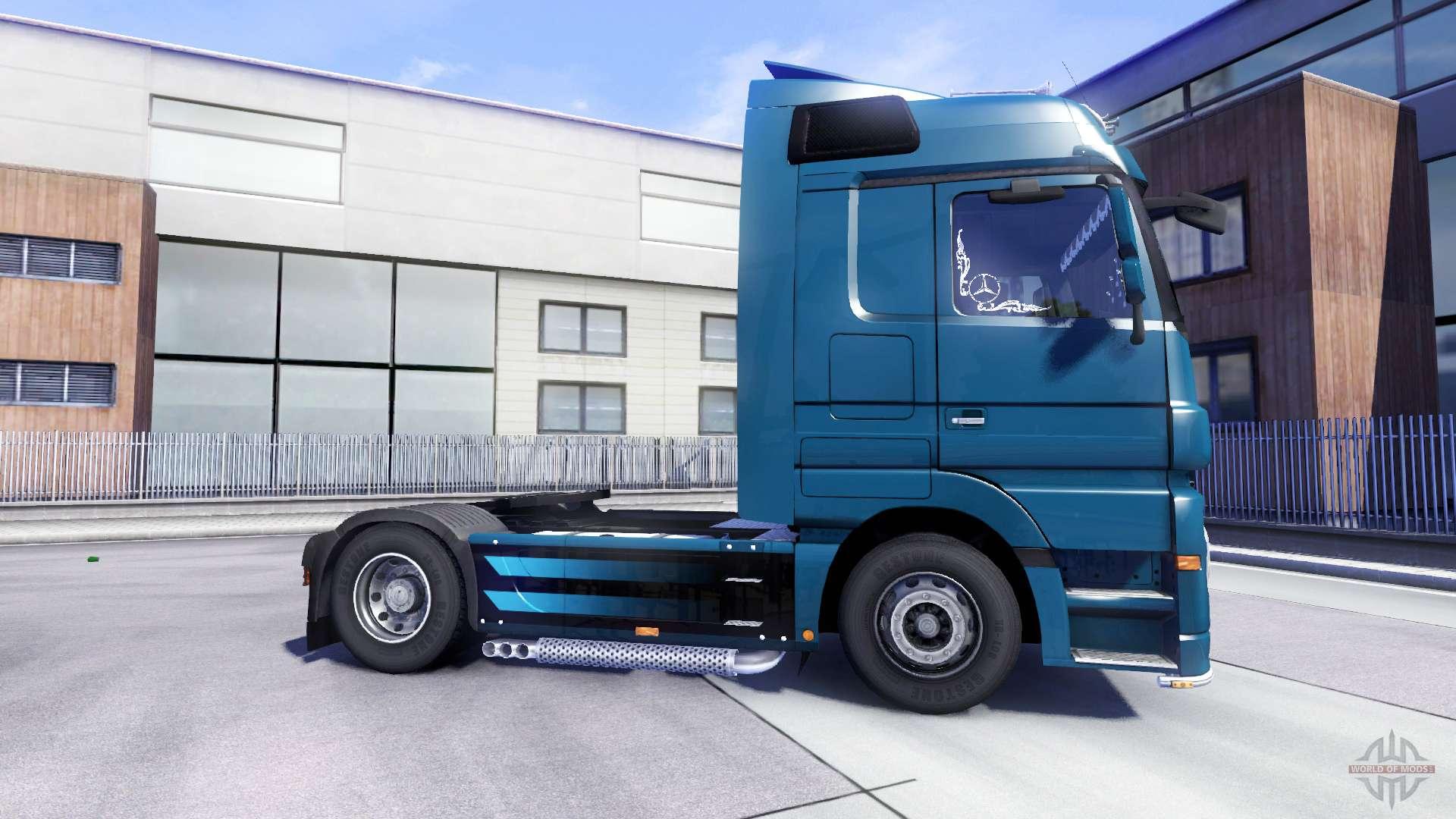 Mercedes benz actros for euro truck simulator 2 for Mercedes benz euro