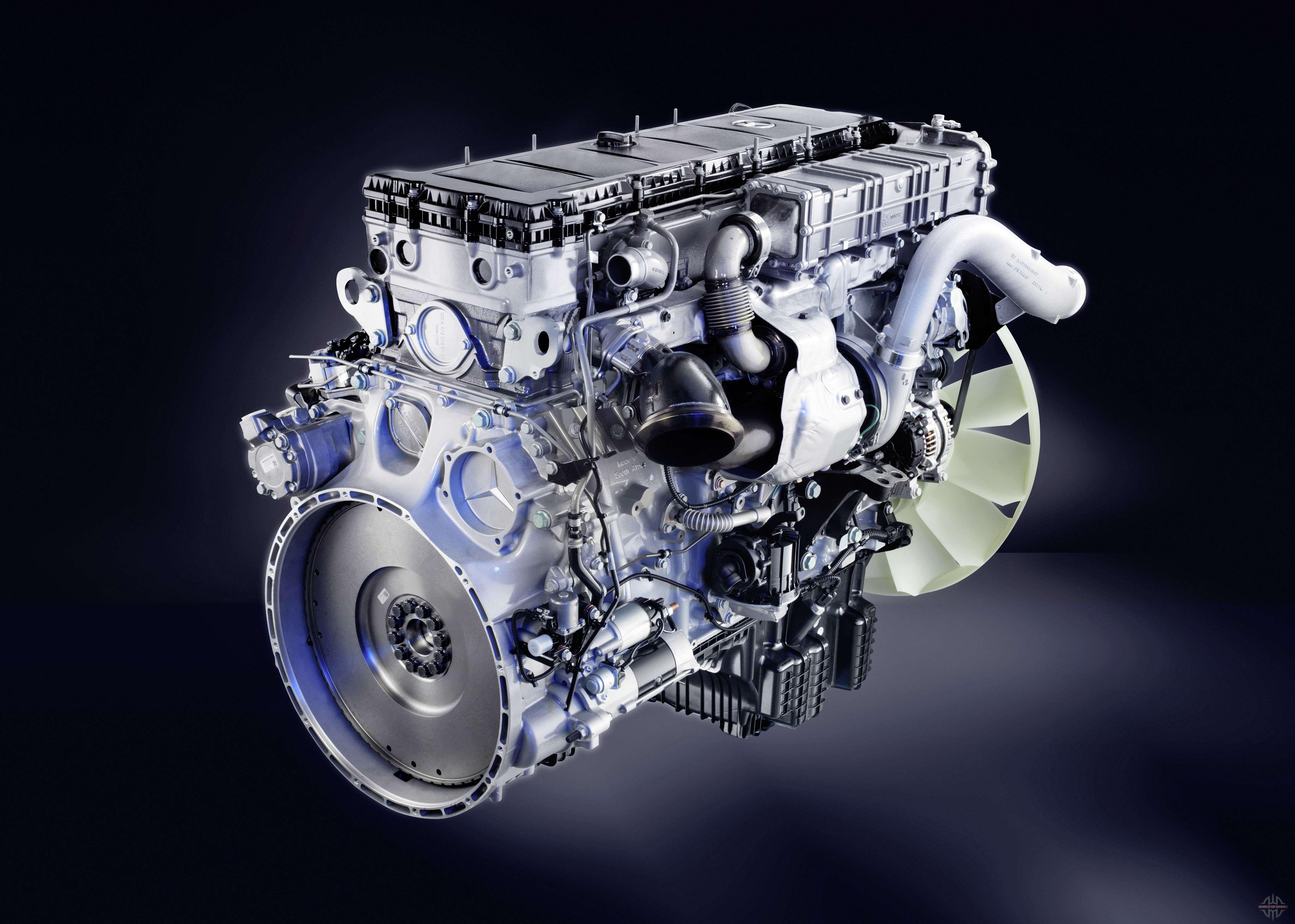 The sound of the diesel engine mercedes benz actros for for Mercedes benz diesel truck engines