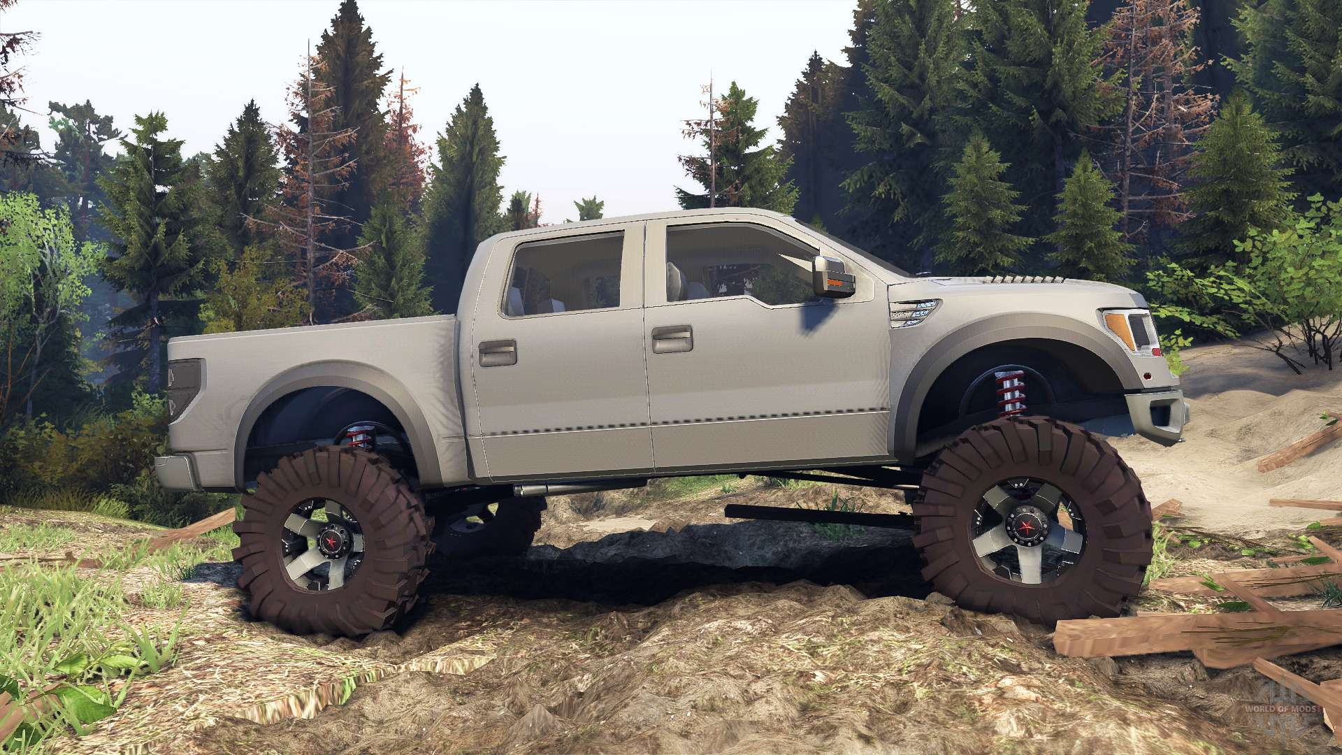 Spintiresrelease on 2014 Ford Raptor Svt