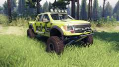 Ford Raptor Pre-Runner v1.1 borla for Spin Tires