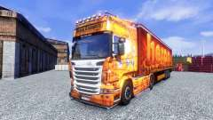 Skin made Oxford for Scania truck for Euro Truck Simulator 2