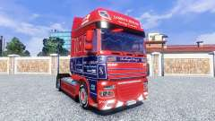 Skin James S. Hislop for DAF tractor unit