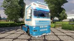 Skin VeBa Trans for DAF tractor unit