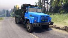 KrAZ-260 v3.0 for Spin Tires