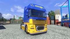 Skin IKEA for DAF XF tractor unit