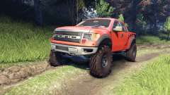 Ford Raptor SVT v1.2 factory comp orange