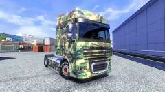 Skin Tarnmuster for DAF XF tractor unit