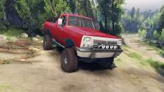 Dodge Ramcharger 1991 Open Top v1.1 blood red