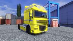 Skin Yellow Edition for DAF XF tractor unit