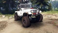 Jeep YJ 1987 Open Top white