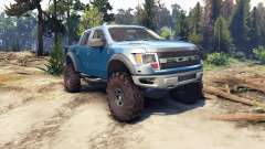 Ford Raptor SVT v1.2 factory blue flame