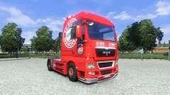 Skin FC Bayern Munchen on the truck MAN