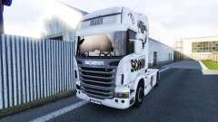 The Scania V8 skin for Scania truck