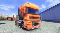 The Lowe skin for DAF XF tractor unit