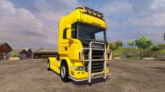 Scania R560 yellow