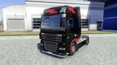 Skin Stocker Transporte for DAF XF tractor unit