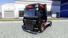 Skin Stocker Transporte for DAF XF tractor unit