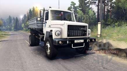 GAZ-SAZ-2506 for Spin Tires
