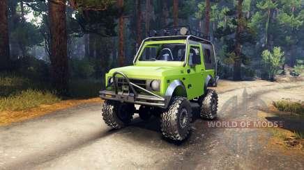 Suzuki Samurai Extreme for Spin Tires