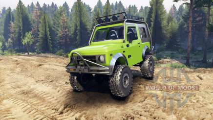 Suzuki Samurai Extreme v1.5 for Spin Tires