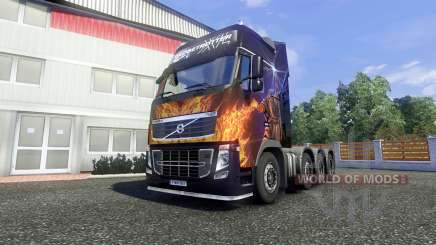 Volvo FH16 8x4 v2.0 super control for Euro Truck Simulator 2