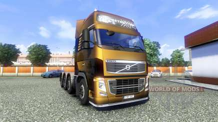 Volvo FH16 8x4 Heavy Duty for Euro Truck Simulator 2