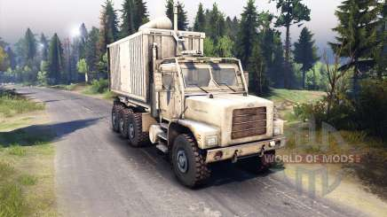 Oshkosh MTVR 8x8 PLS-LHS [13.04.15] for Spin Tires
