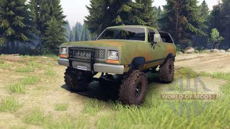 Dodge Ramcharger 1985 v1.0 for Spin Tires