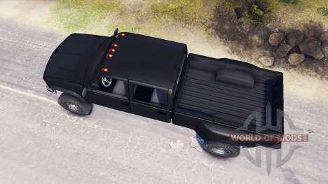 GMC Suburban 1995 Crew Cab Dually black for Spin Tires