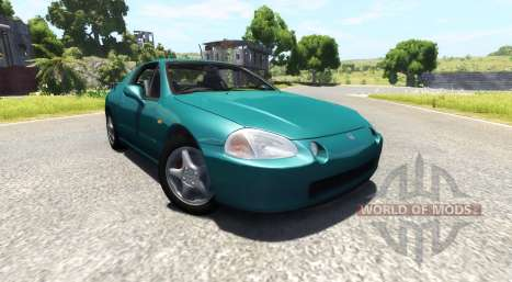Honda CR-X del Sol SiR v1.1 for BeamNG Drive