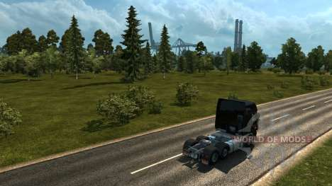 Map of Russia - Russian space for Euro Truck Simulator 2