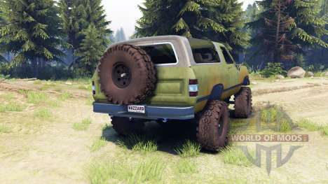 Dodge Ramcharger 1985 v1.0 for Spin Tires