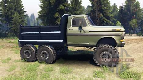 Ford F-100 6x6 v1.1 for Spin Tires