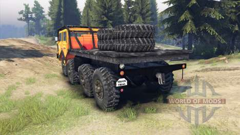 Tatra 813 KOLOS 8x8 for Spin Tires