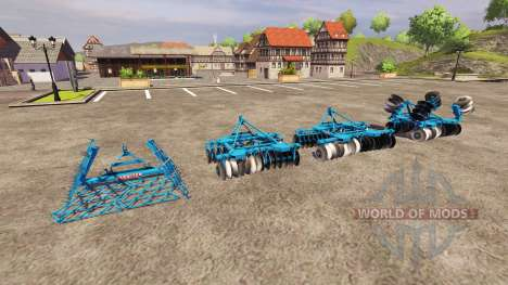 Parmiter Disc [pack] for Farming Simulator 2013