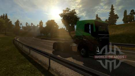 Map Of Europe - Mario Map for Euro Truck Simulator 2