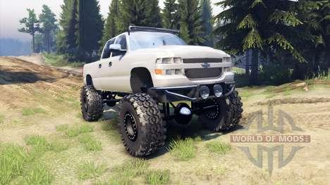 Chevrolet Silverado 2500 Duramax v1.1 for Spin Tires
