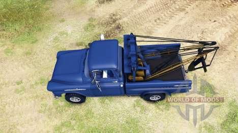 Chevrolet Apache 1959 Fleetside for Spin Tires
