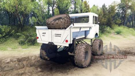 Jeep FC white for Spin Tires